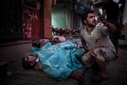 Crédit photo Edouard Elias, otage en Syrie
