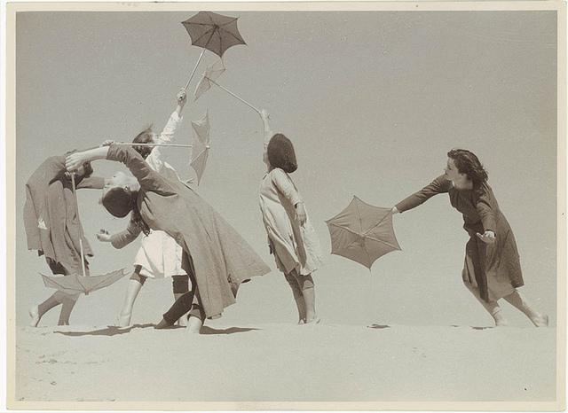 """Margaret Barr's """"Strange Children"""" [ballet], 1955 / photographer unknown"""