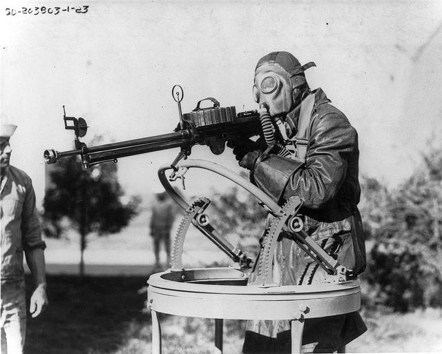 Gunnery training, NAS San Diego, 1923