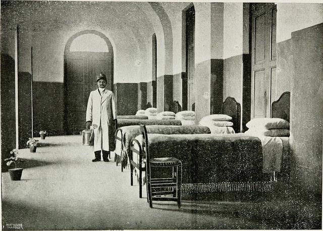"Ospedale psichiatrico ""S. Maria Maddalena"" Psychiatric hospitals Insanity"